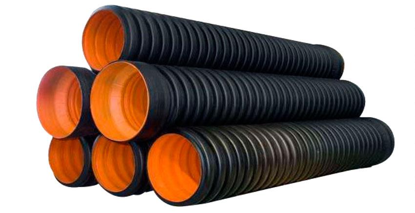 Гофрированные трубы канализационные
